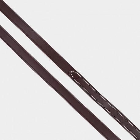 Rênes cuir lisse 16mm